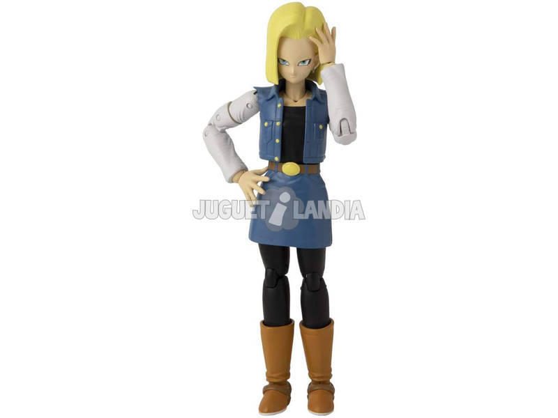 Dragon Ball Super Figurine Deluxe Androide 18 Bandai 36191