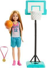 Barbie Soeur Athlète Basket Mattel GHK35