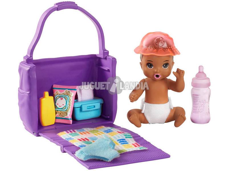 Barbie Skipper Canguro de Bebés Hora del Cambio de Pañal Mattel GHV86
