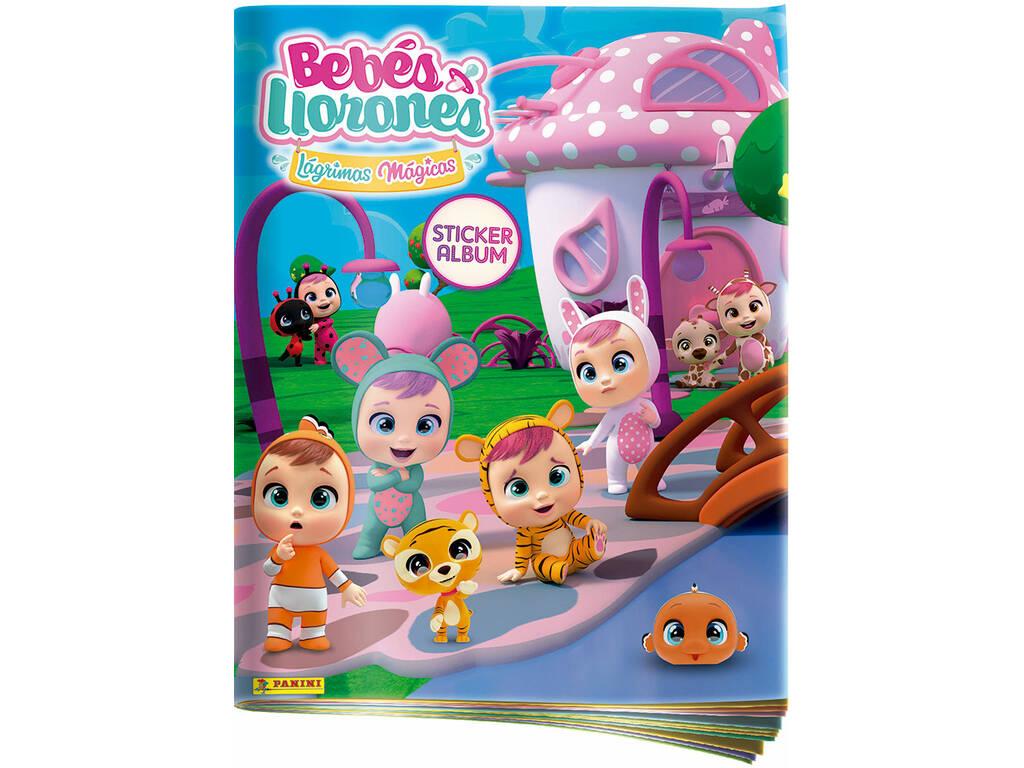 Bebés Llorones Pack Álbum + 3 Sobres Panini 80683