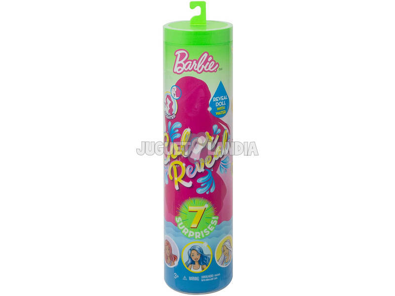Barbie Muñeca Color Reveal Fashion Mattel GTP41