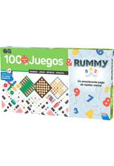 100 Gesammelte Spiele + Rummy von Falomir 29313