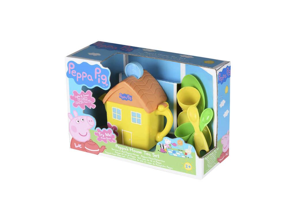 Peppa Pig Juego de Té con Tetera de Casa de Peppa CYP 1684671