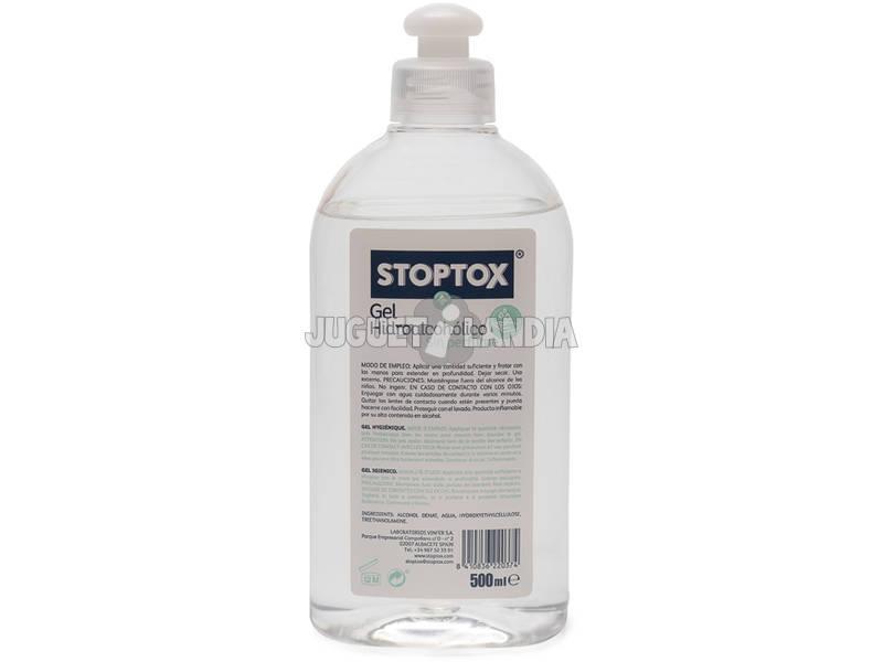 Gel Hidroalcohólico Sin Perfume Stoptox 500 ml. Vinfer H422500010