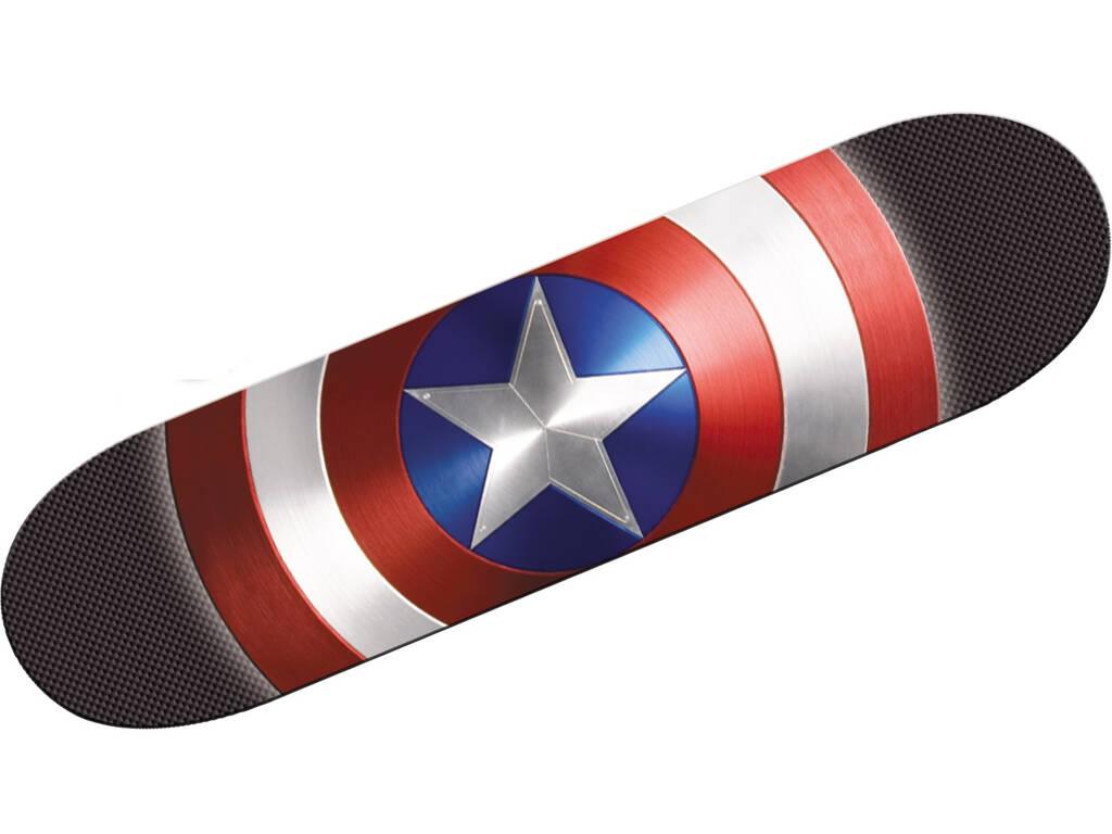 Skateboard Avengers Capitán América Mondo 28099