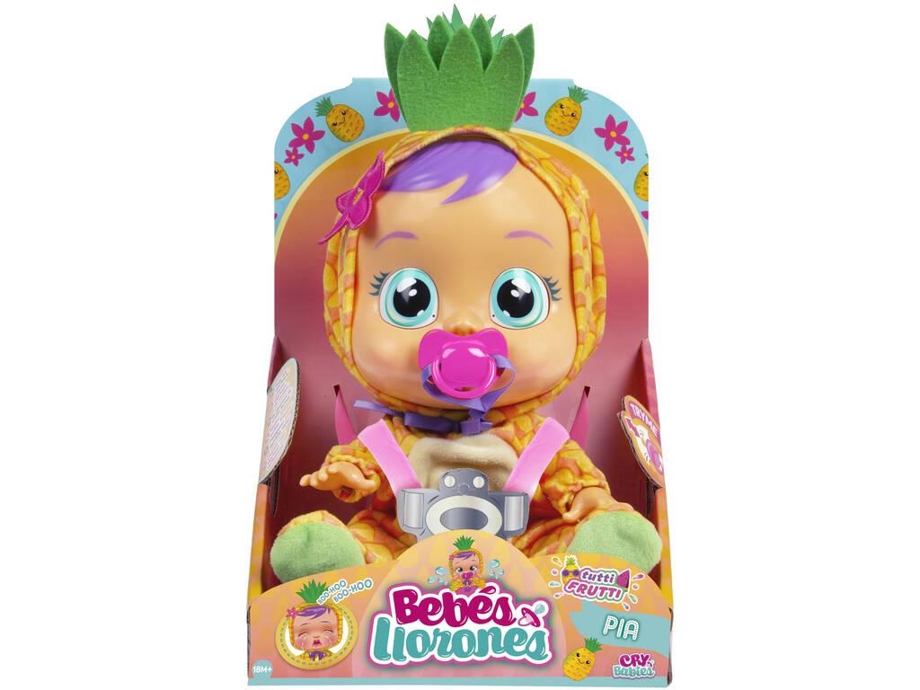 Bebés Llorones Tutti Frutti Pia Piña IMC Toys 93829