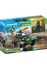 Playmobil Off Road Action Weekend Warrior 70460