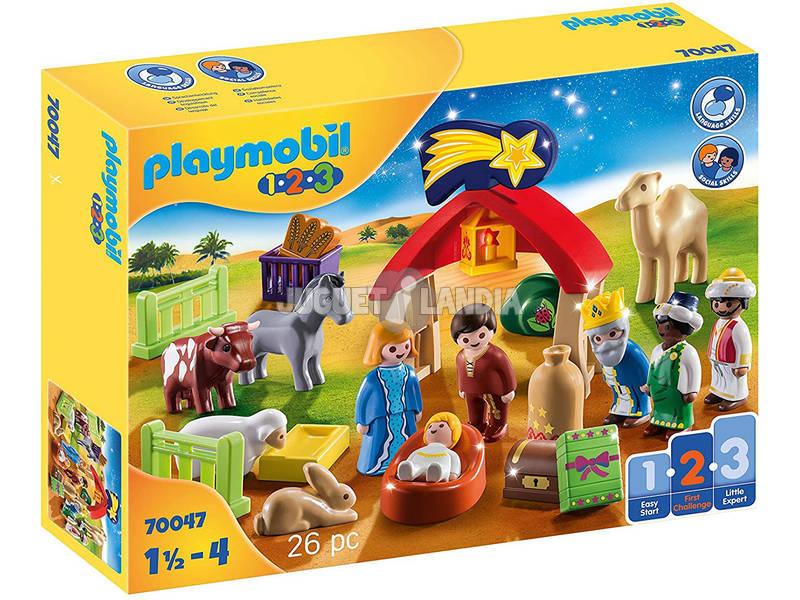 Playmobil 1,2,3 Mi Primer Belén 70047