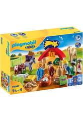 Playmobil 1,2,3 Meu Primeiro Belén 70047