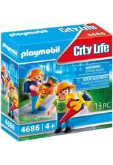 Playmobil Mi Primer Día de Cole 4686