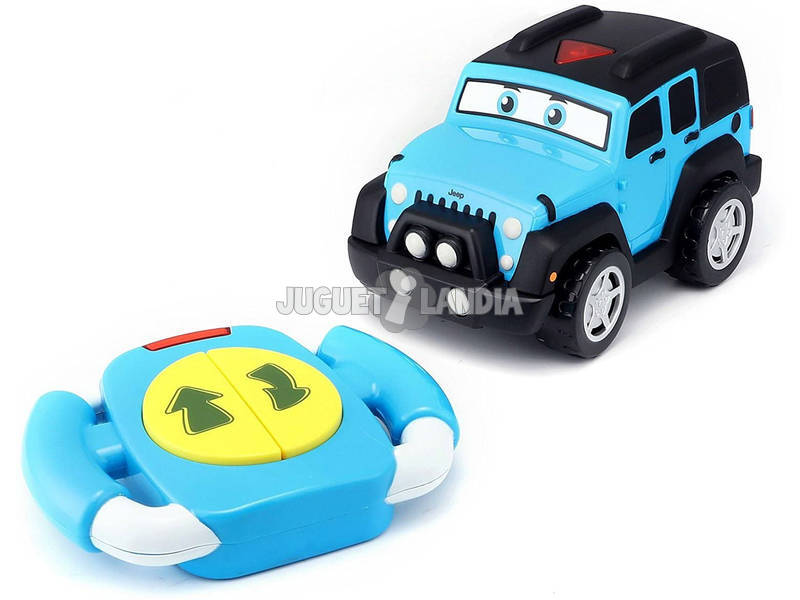Burago Junior Radio Control Jeep Lil Drivers Teledirigido Tavitoys 16-82301