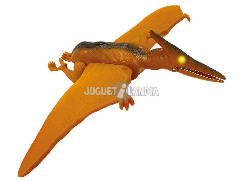 Wild Predators Dinosaurio Pterodáctilo con Luz y Sonidos World Brands XT380912