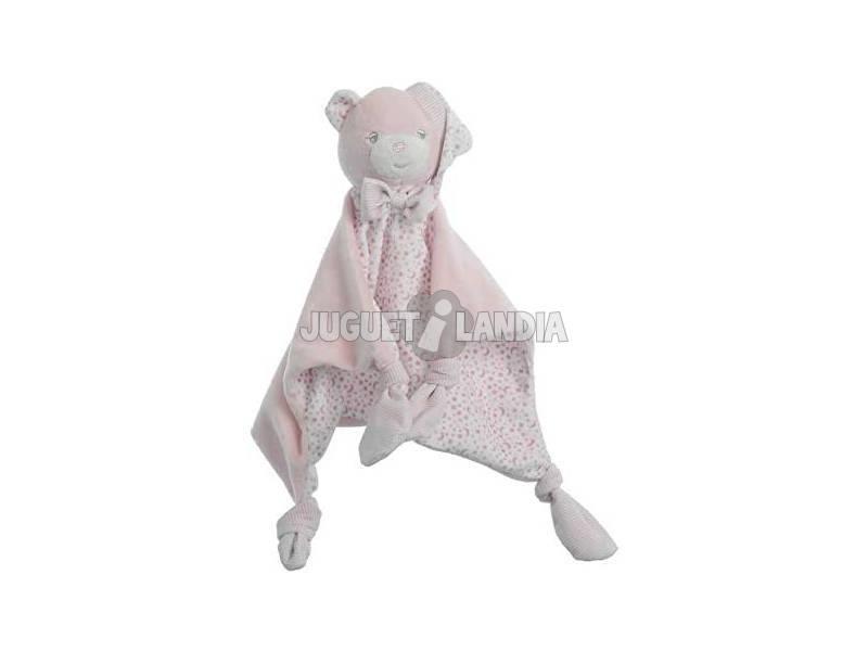 Dou Dou Osito Sweet Estrellitas Rosa 23x30 cm. Creaciones Llopis 25454
