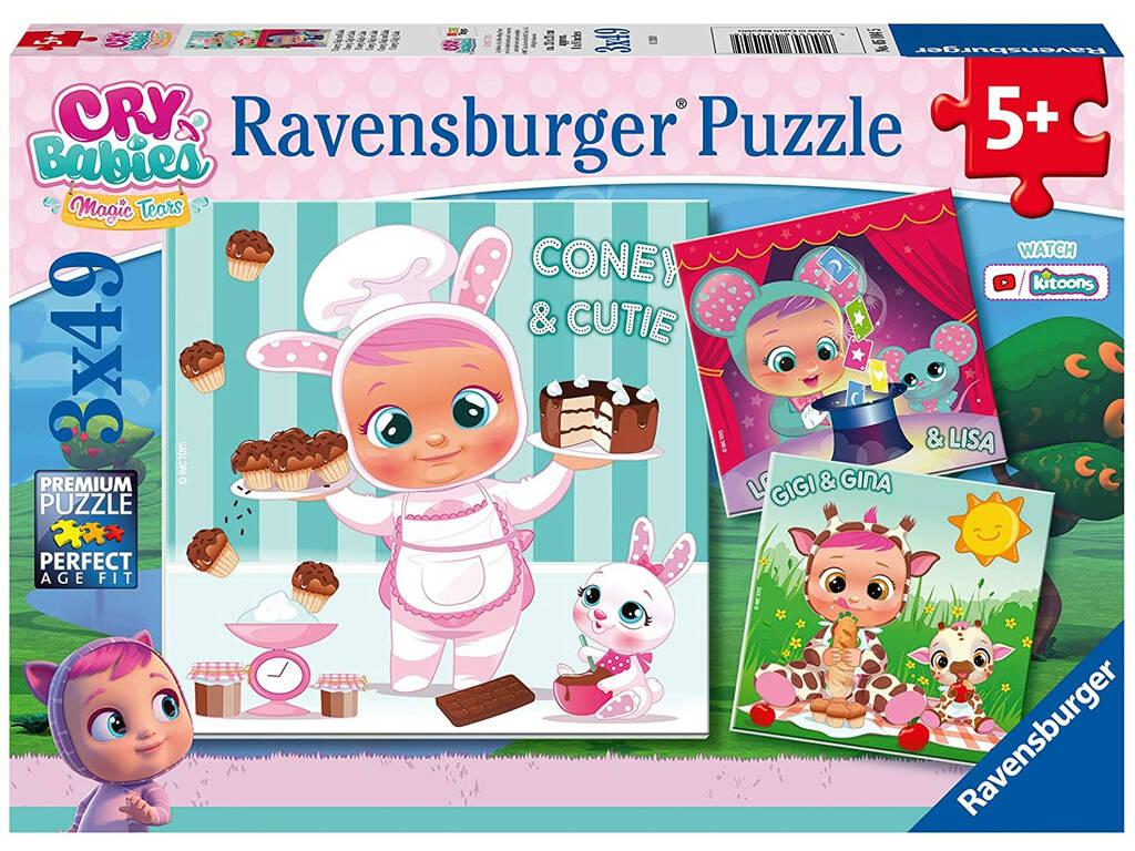 Bebés Llorones Puzzle 3 en 1 Ravensburger 5104