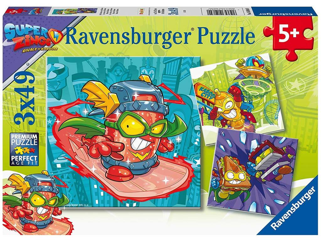 SuperZings Puzzle 3 en 1 Ravensburger 5084