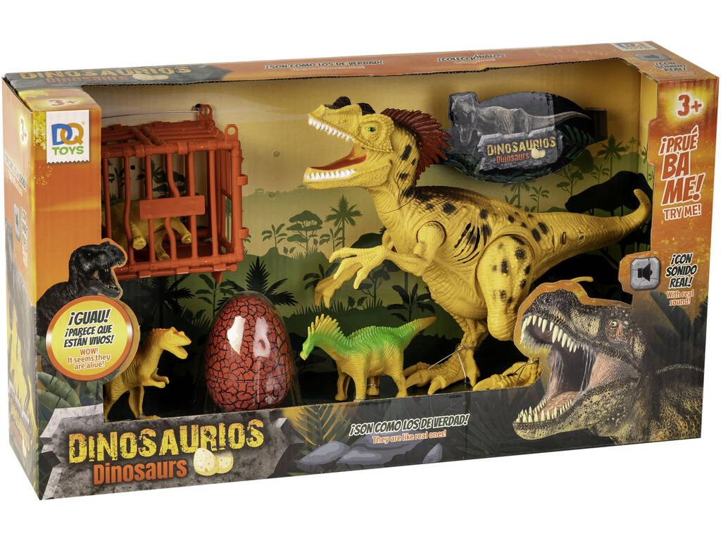 Dinosaurio Luz y Sonidos con Accesorios
