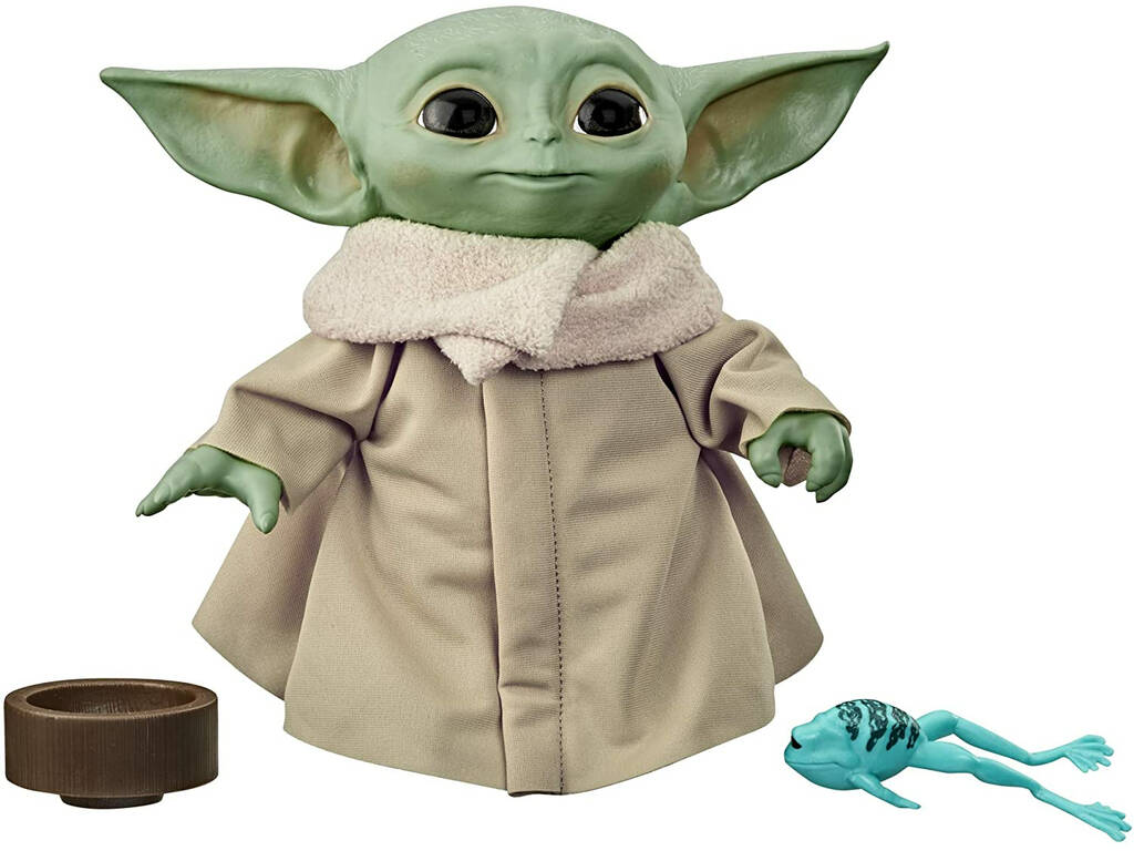 Star Wars The Mandalorian Baby Yoda The Child Peluche Parlante Hasbro F1115