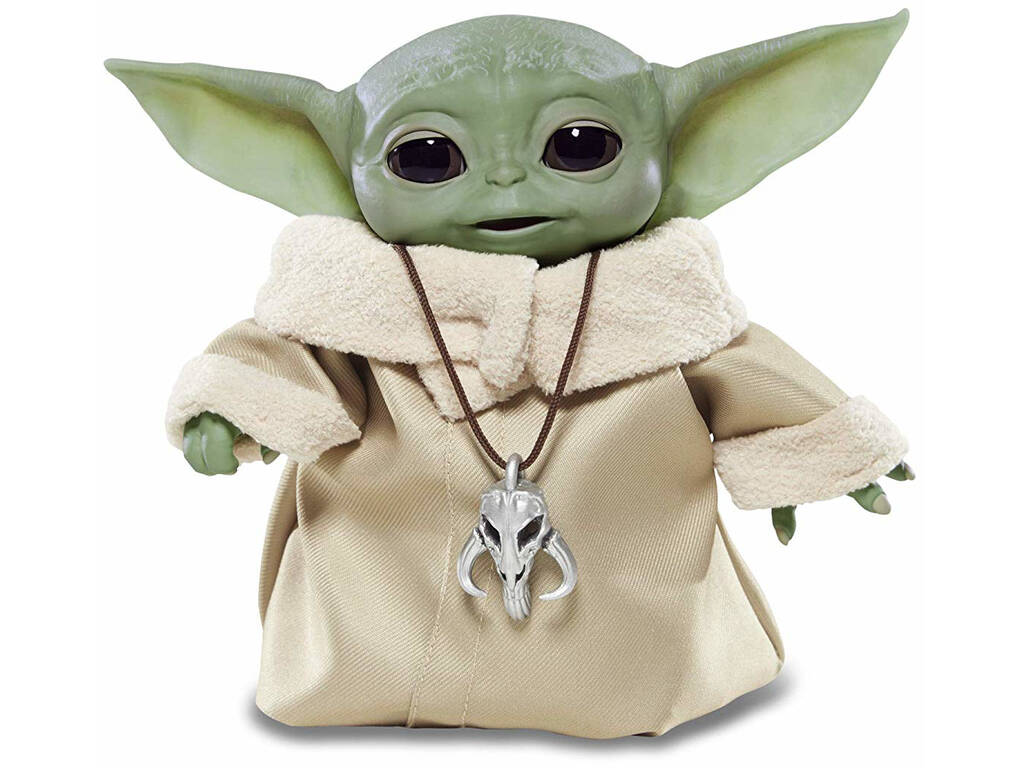 Star Wars The Mandalorian Baby Yoda The Child Animatronic Hasbro F11195LO