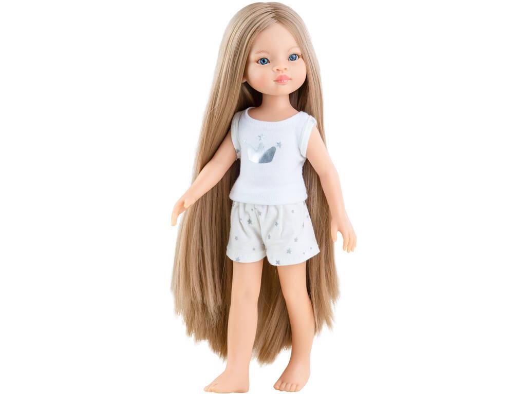 Muñeca 32 cm. Manica Amigas Pijama Paola Reina 13208