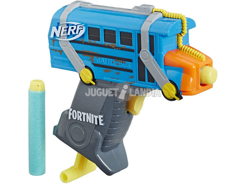 Nerf Fortnite Microshots Micro Battle Bus Hasbro E6752