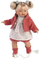 Aitana Weinende Puppe 33 cm. Llorens 33124
