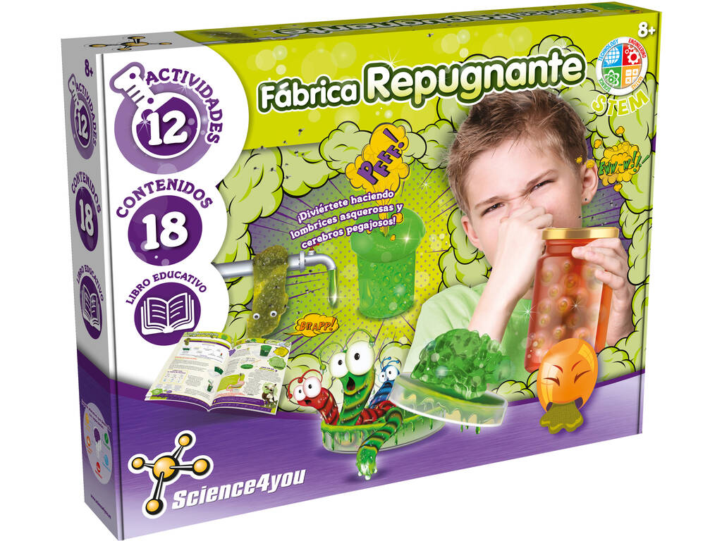 Fábrica Repugnante Science4You 80002196
