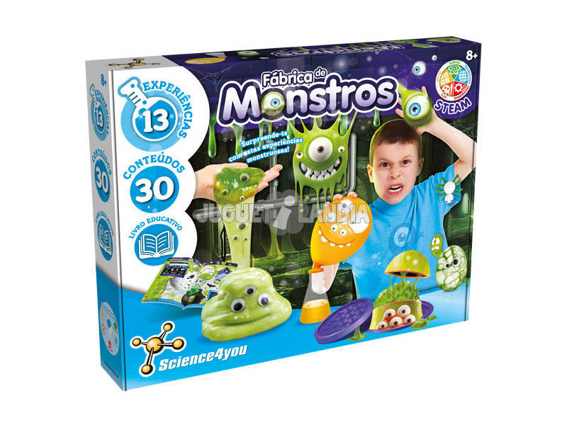 Fábrica de Monstruos Science4You 80002454