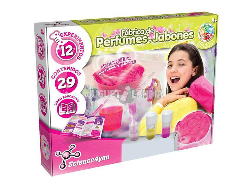Fábrica de Perfumes y Jabones Science4You 80002641