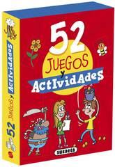 Jeux de cartes Activités 52 Jeux et activités Susaeta S3440004