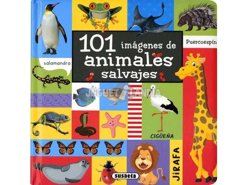 101 Imágenes de Animales Salvajes Susaeta S5079001