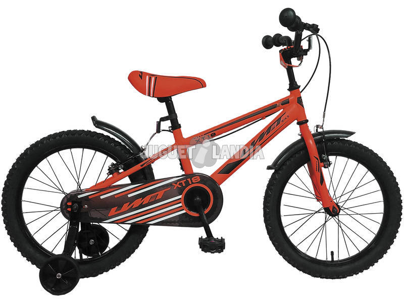 Bicicleta de 18 XT18 Roja Umit 1870-1