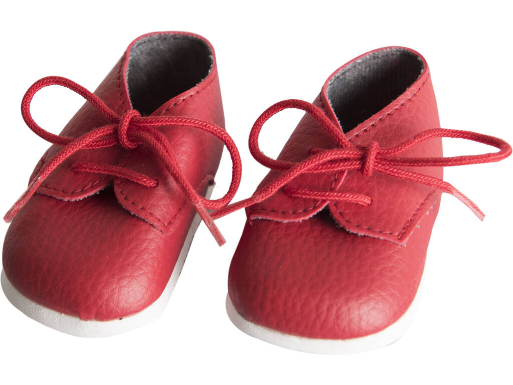 Zapatos Rojo con Cordones Muñeca 43-46 cm. Asivil 5361605