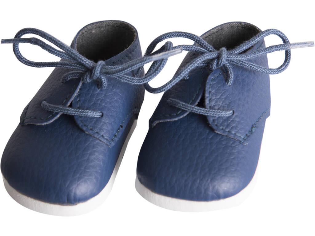 Zapatos Marino con Cordones Muñeca 43-46 cm. Asivil 5361606