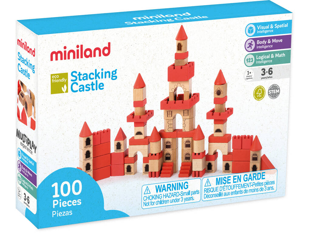 Stacking Castle Miniland 94050