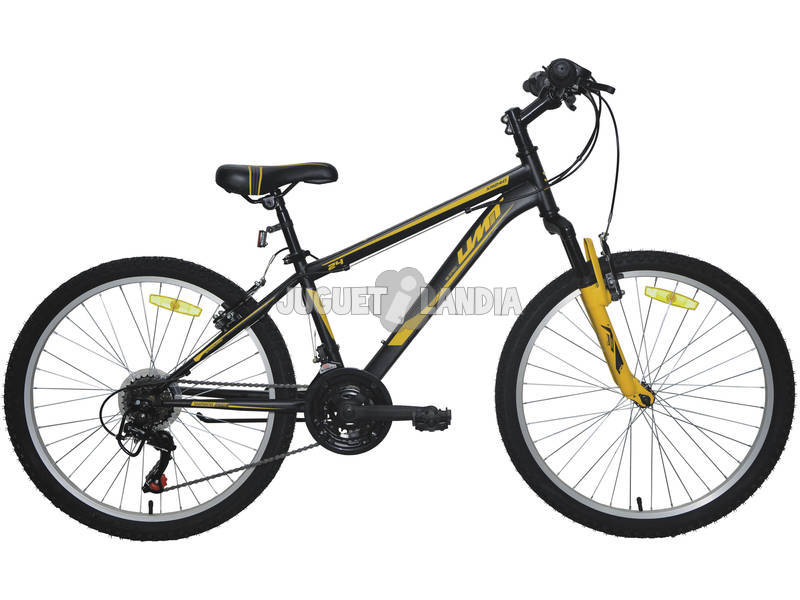 Bicicleta XR-240 Negra y Naranja con Cambio Shimano 18v y Suspension Delantera Umit 2470CS-76