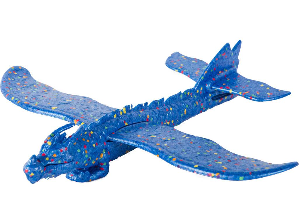 Dragón Volador Azul