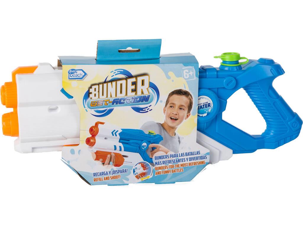 Pistola de Agua Bunder Ice Storm World Blanca