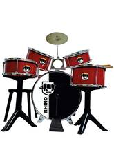 Batteria Golden Red Drums Reig 717