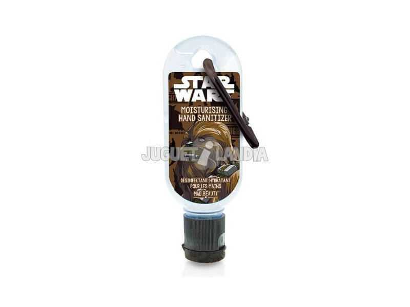 Gel Hidroalcohólico 30 ml. Clip Disney Star Wars Chewbacca