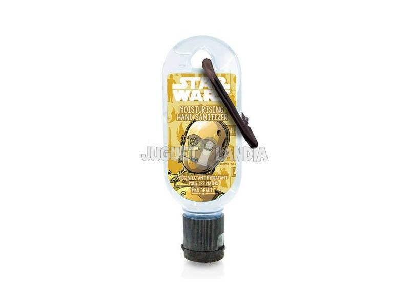 Gel Hydro Alcoolique 30 ml. Clip Disney Star Wars C3PO