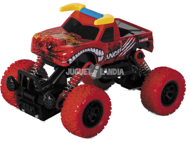 Coche Friccion Monster Animal 4x4