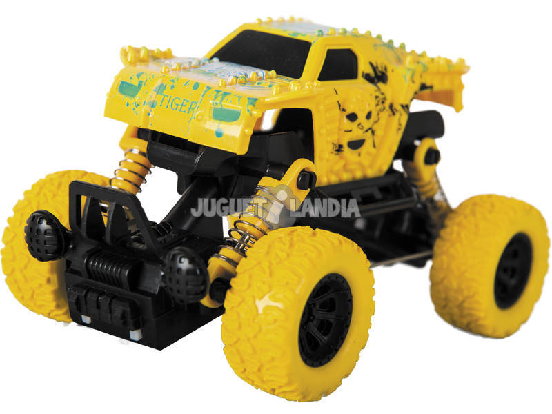 Coche Friccion Monster Strong Power 4x4