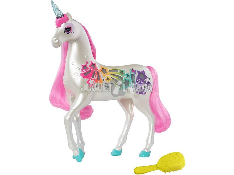 Barbie Unicornio Brillos De Arcoíris Mattel GFH60