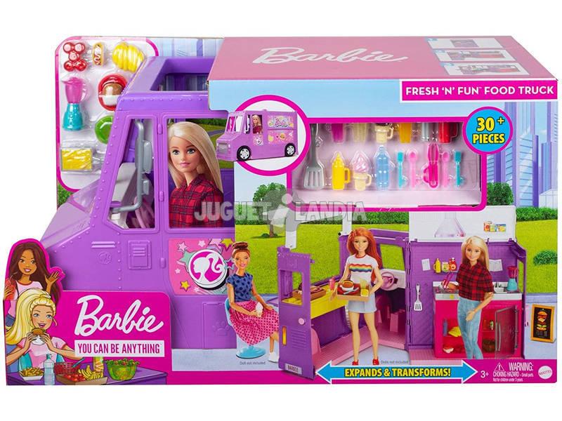 Barbie Camioneta de Comida con Accesorios Mattel GMW07