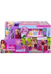 Barbie Camioncino Bar con Accessori Mattel GMW07