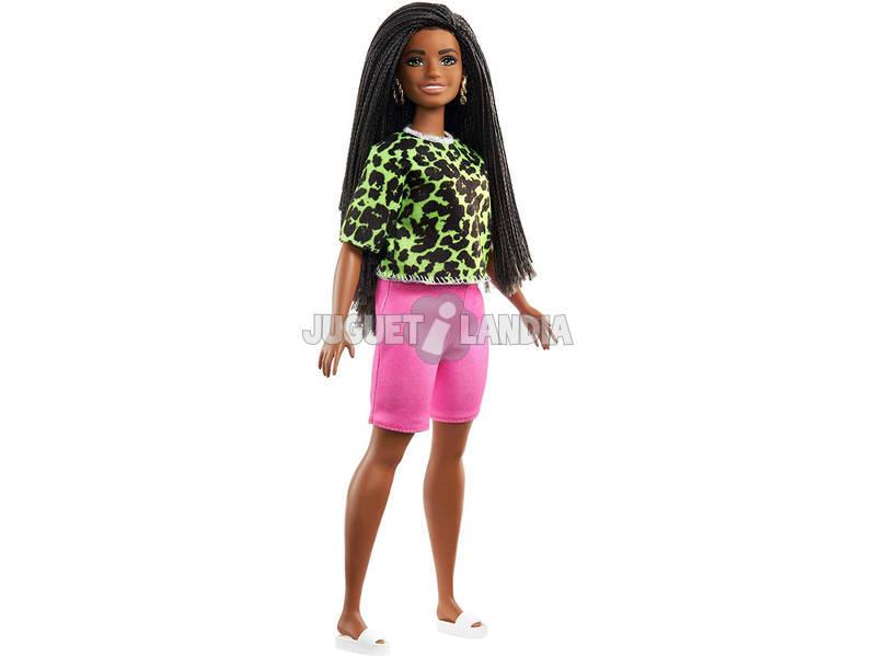 Barbie Fashionistas Neon Leopard Shirt Mattel GHW58