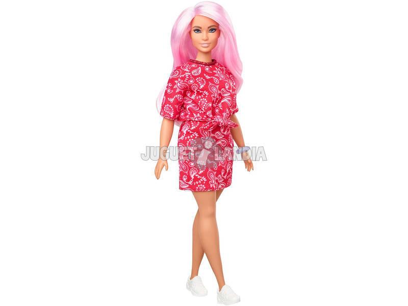 Barbie Fashionistas Bandana Shirt Dress Mattel GHW65