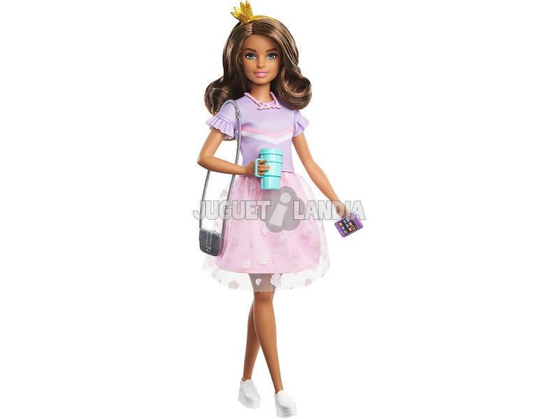 Princess Adventure Muñeca Fantasía Rosa Mattel GML69