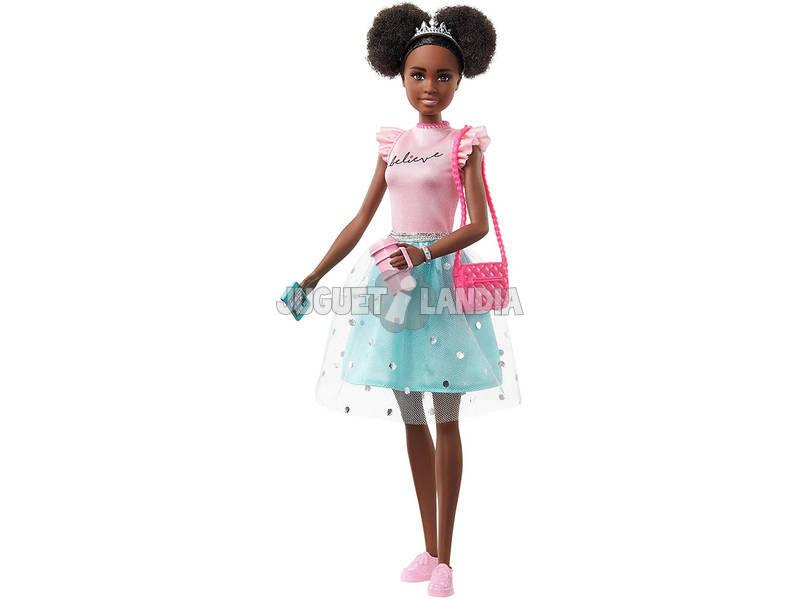 Princess Adventure Muñeca Fantasía Turquesa Mattel GML70
