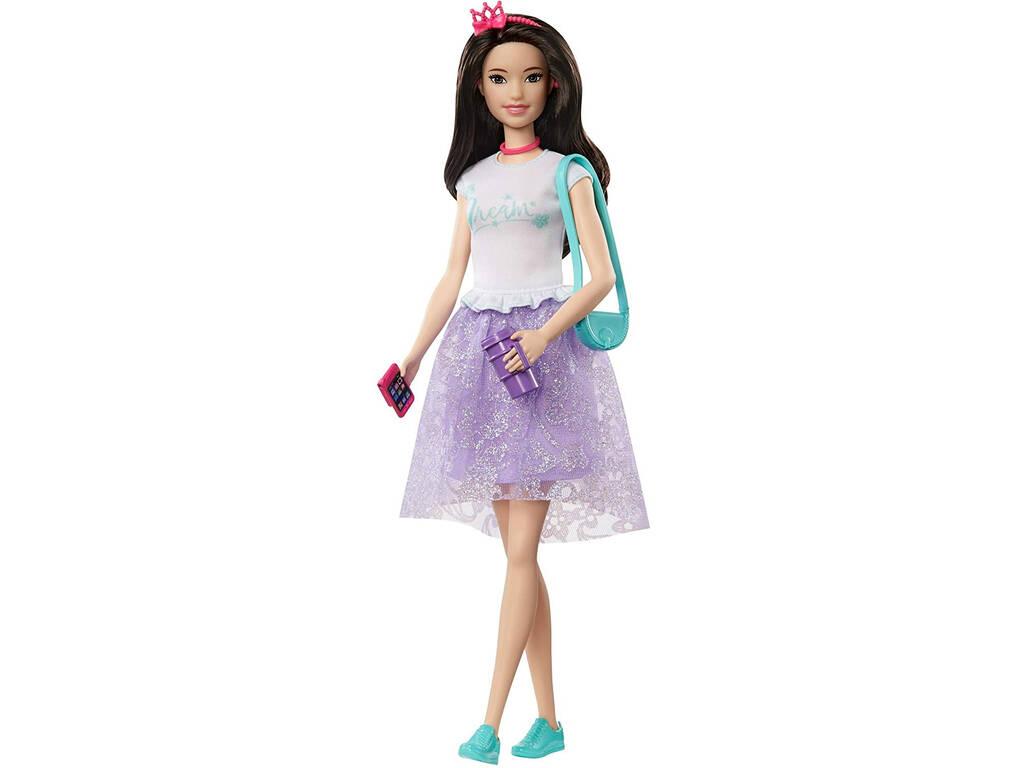 Princess Adventure Muñeca Fantasía Lila Mattel GML71